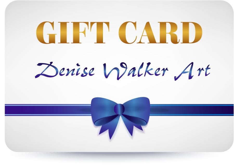 Denise walker art gift card