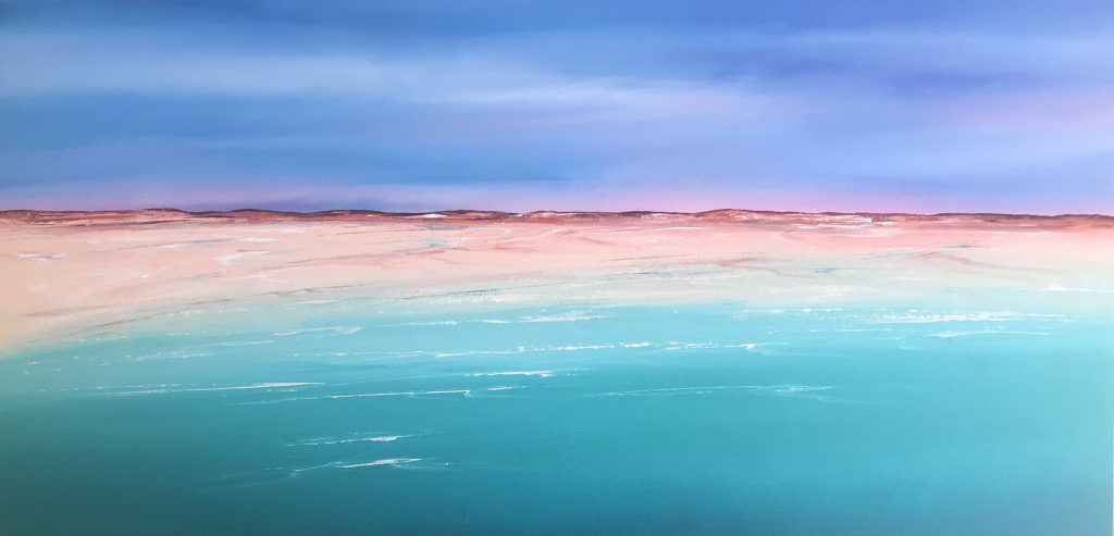 Original Artwork Kimberley Coast 140cm x 70cm
